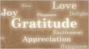 gratitude words